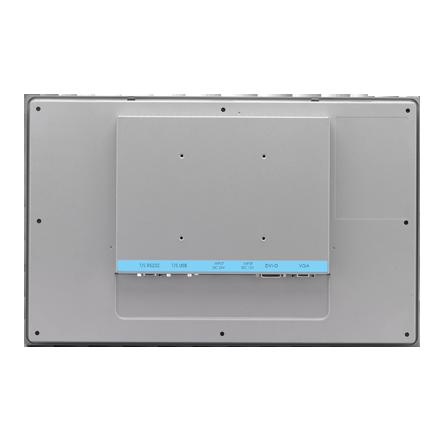 "Industrial Grade Monitor 18.5"" PCAP TC, 1366x768 resolution, 24VDC power input, 0 ~ 55°C operating temperature"