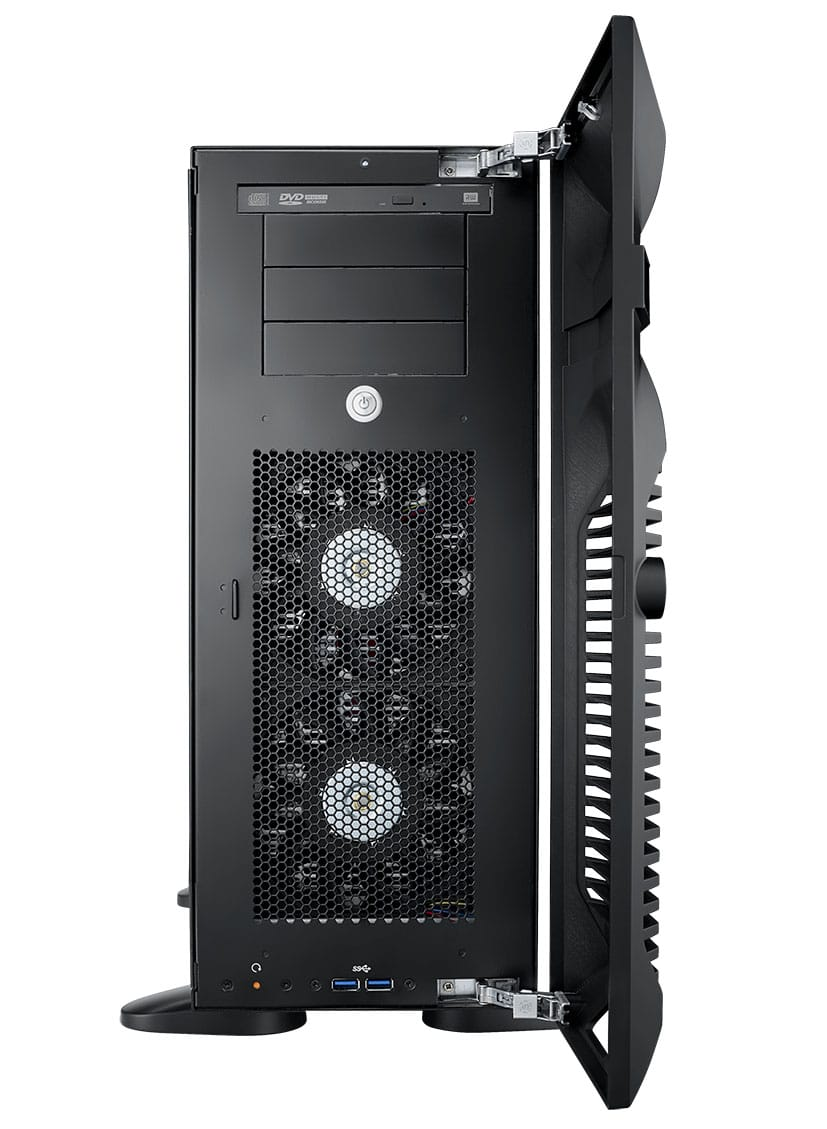 CHASSIS, HPC-7000 Tower Chassis w/ 500W SPS