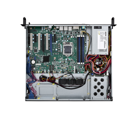 HPC-7120S 1U chassis with 350W SPS