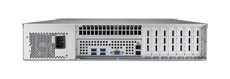 2U Rackmount Server Chassis for ATX/MicroATX Motherboard with 8 Hot-Swap HDD Trays & 7 PCIe x16 Expansion