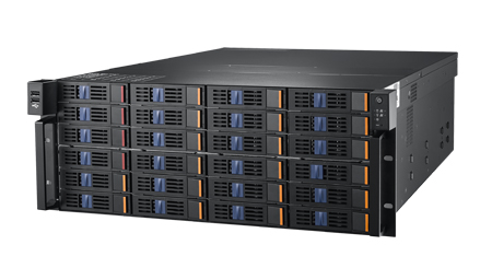 "Intel Xeon E5-2600v3 based High Performance 4U Rackmount Server with 24 x 3.5""/2.5"" Hot-swap NVMe/SSD/HDD Bays"