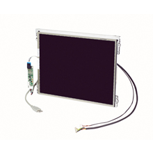 "6.5"" 640X480 LVDS 640nits with 4-wire Resistive Touch Display Kit"