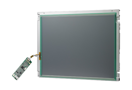 "10.4"" 800x600 LVDS 230nits LED 6/8 bit with 4-wire Resistive Touch Display Kit"
