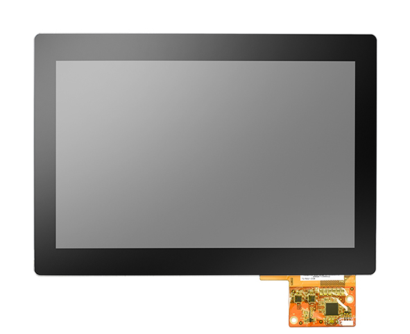 """10.1"""" WXGA Industrial Display Kit with 500nit IPS LCD, PCAP touch"""