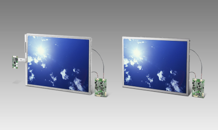 "8.4"" 800x600 LVDS 1200nits LED 6/8bit Res.Touch High Brightness Display Kit"