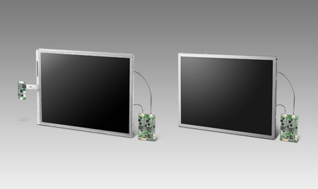 "10.4"" 800x600 LVDS 1200nits LED 6/8bit Res. Touch High Brightness Display Kit"
