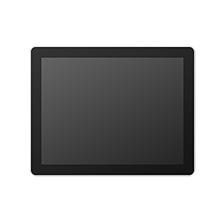 "15.0"" ProFlat Touch Monitor, P-CAP, 400 nits, VGA/DVI, Black"