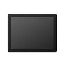 "19.0"" ProFlat Touch Monitor, P-CAP, 250 nits, VGA/DVI/HDMI/DP, Black"
