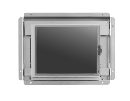 "6.5"" 640 x 480 Slim Open Frame Monitor with VGA/DVI and Integrated Bracket"
