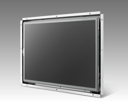 "17"" 1280 x 1024, Ultra Slim Touch Open Frame Monitor with VGA/DVI Interface"