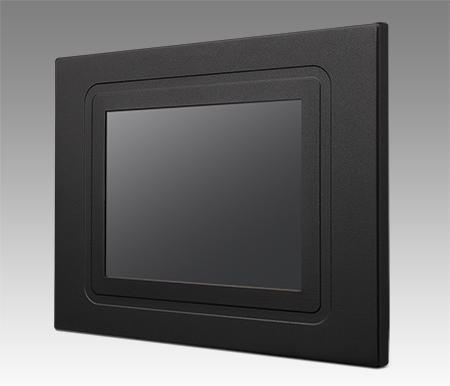 "6.5"" VGA  Panel Mount Monitor, 800nits w/ Glass"