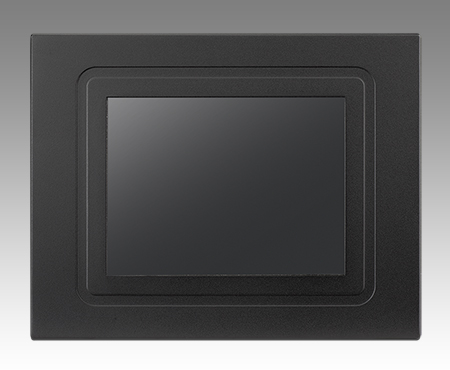 "6.5"" VGA  Panel Mount Monitor, 800nits, non-touch"