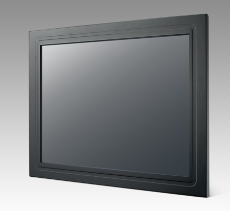 "12.1"" SVGA LED Panel Mount Monitor, w/Resistive Touch, VGA Interface only"
