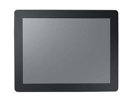 "15"" XGA Panel Mount Monitor, 500 nits, w/Resistive Touch and IP56 Front"