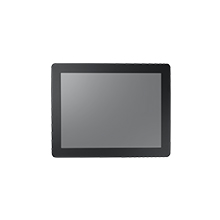 """15"""" XGA Panel Mount Monitor, Ultra Bright 1200 nits, w/Resistive Touch and IP56 Front"""