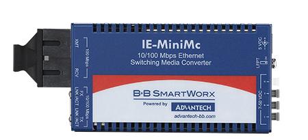 Miniature Media Converter, Wide Temp, 100Base-SX/TX, Multi-mode 850nm, LFPT, 2km, SC type