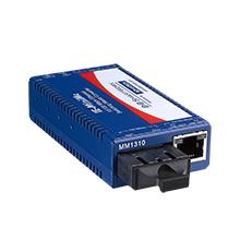 Mini Hardened Media Converter,100Mbps, Multimode 850nm, LFPT, 2km, SC