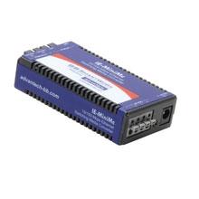 Miniature Media Converter, Wide Temp, 100Base-TX/FX, Single-mode 1310nm, 40km, ST type (renaming to IMC-350I-SEST)