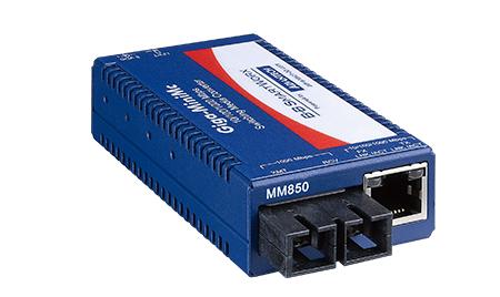 Mini Media Converter, 1000Mbps, Single-Strand 1550xmt, LFPT, 15km, SC,  AC adapter