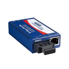 Miniature Media Converter, Wide Temp, 1000TX/LX, Single-mode 1310nm, LFPT, 15km, SC type