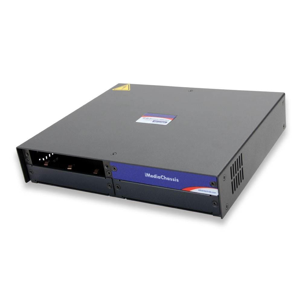 Intelligent Modular 3-slot Media Converter Chassis,  2 AC Power (also known as MediaChassis 850-10949-2AC)