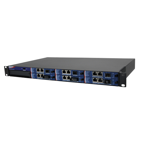 Intelligent Modular 6-slot Media Converter Chassis,  2 DC Power (also known as MediaChassis 850-10953-2DC)