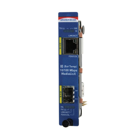 Intelligent  Modular Media Converter, Wide-Temp. 10/100Mbps, SFP (also known as iMcV 856-18700)