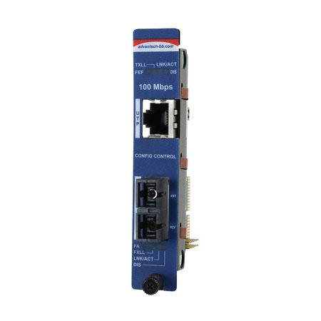 Intelligent  Modular Media Converter, 10/100Mbps, Multi-mode 1300nm, 5km, SC type (also known as iMcV 850-15614)