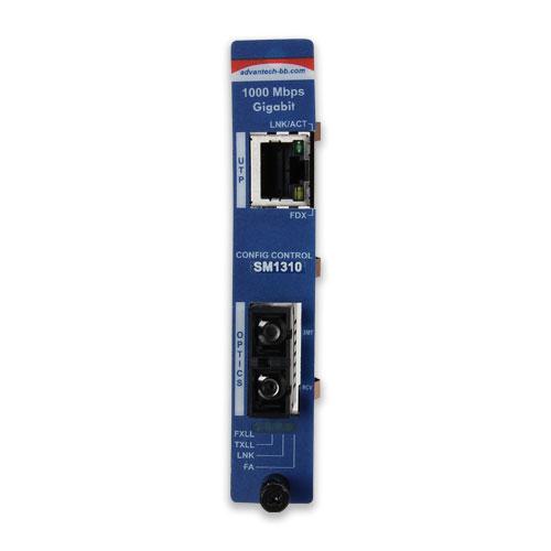 Intelligent  Modular Media Converter, 1000TX/LX, Single-Strand 1310xmt, 40km, SC type (also known as iMcV 850-15525)