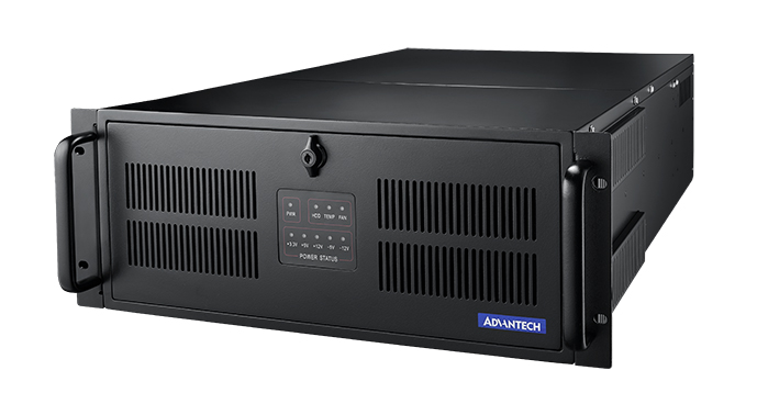 4U 20-Slot Industrial Rackmount Chassis with Multi-System Support, Front-Accessible Power, w/o SPS