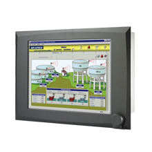"Rugged Intel<sup>®</sup> Pentium<sup>®</sup> 4 Industrial Panel PC with 15"" LCD"