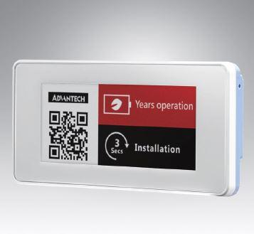 """<li>研華2.9""""電子紙模組顯示器,黑/白/紅三色顯示,Sub-1GHz</li> <li>2.9"""" ePaper Display, Red/Black/White</li>"""