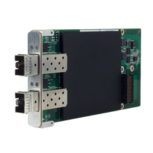 Dual 10 Gigabit Ethernet XMC / PMC Mezzanine Card