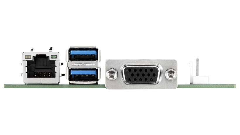 CIRCUIT BOARD, Intel Celeron N3350 2.4G, MIO SBC, VGA