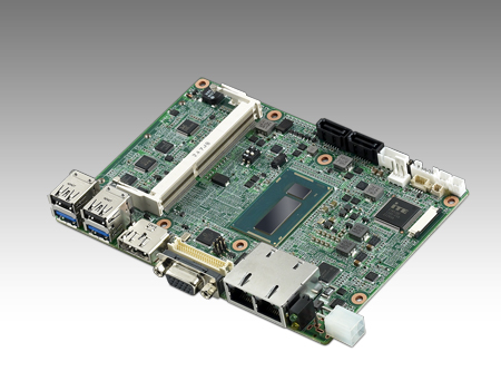 "4th Gen Intel<sup>®</sup> Core™ i5 3.5"" Fanless SBC with GT2,VGA, 48bit LVDS,USB3.0"