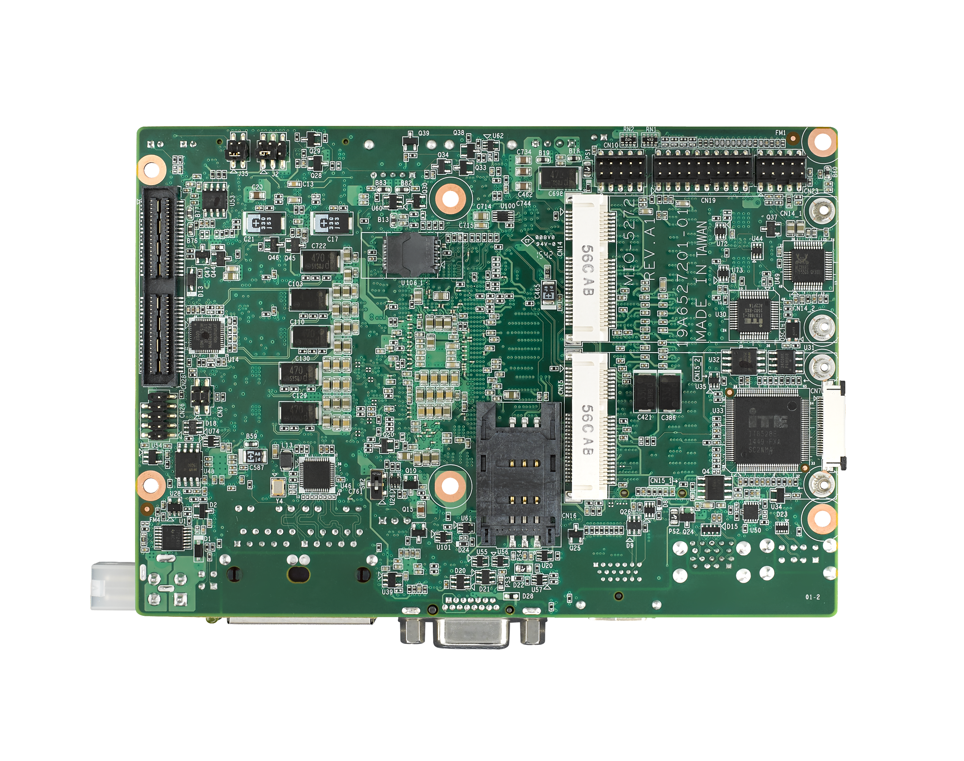 "6th Gen i3 6100U 3.5"" Compact SBC with DDR3L, VGA, HDMI, 48-bit LVDS, 2 GbE, 