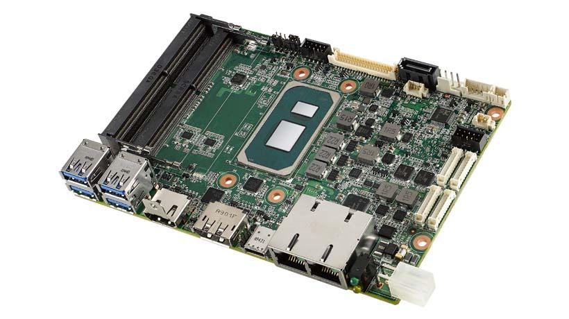 Embedded Board MIO-5375 Tigerlake i7-1185G7E FANLESS