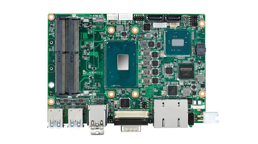 """3.5"""" Embedded Single Board Computer Intel<sup>®</sup> Mobile i5 w/ MIOe Expansion, iAMT, Rich I/O"""