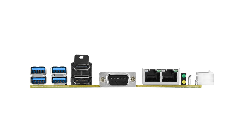 "3.5"" MI/O-Compact Single Board Computer with Intel i5-7442EQ, MIO SBC, HDMI, and wide temperature support -40~85°C"