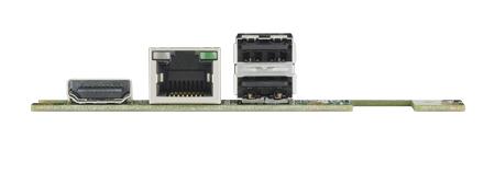 CIRCUIT BOARD, MI/O module, 1 GbE, mini PCIe, SIM, 2 USB2.0