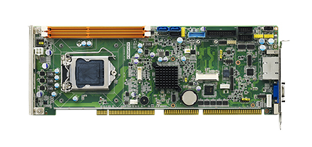 Intel<sup>&#174;</sup> Core™ i7/i5/i3 PICMG 1.0 Full Size Single Board Computer, VGA, Single GbE LAN