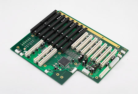 14-Slot Backplane with 4xISA, 6xPCI, 3xPICMG, 1xPCI/ISA and RoHS Support