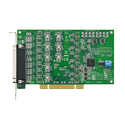 8-port RS-232 PCI Communication Card with Surge