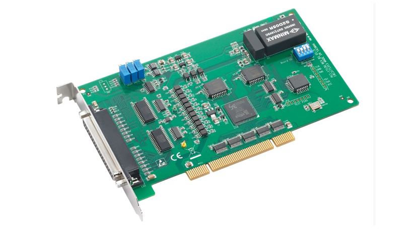 32-Channel Isolated Analog Input Universal PCI Card, 100 kS/s, 12-bit