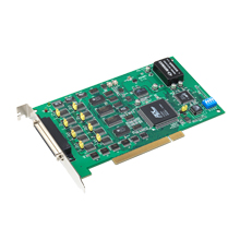 8-Channel Synchronized Analog Output Universal PCI Card, 16bit
