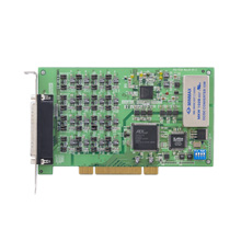 14-bit, 32-ch Isolated Analog Output Universal PCI Card