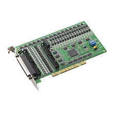 32-Channel Isolated Digital I/O with 32-Channel TTL Digital I/O Universal PCI Card