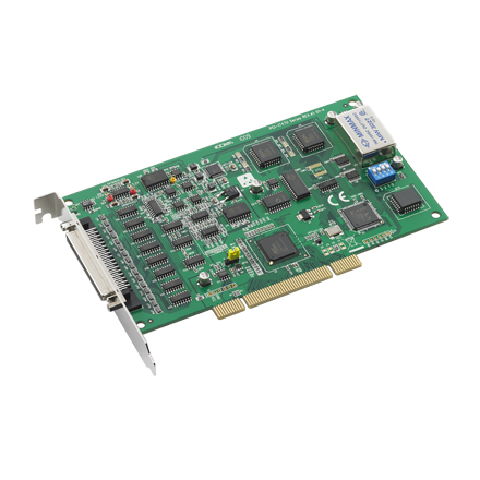 64-Channel High-resolution Analog Input  Universal PCI Card, 250 kS/s, 16bit