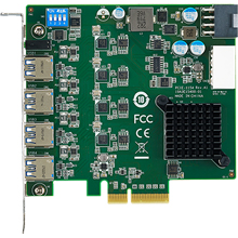 PCI Express x4, 4-Port USB 3.0 Host Adapter Card