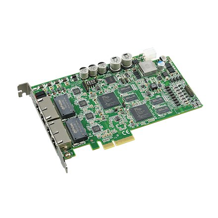 4-port intelligent GigE Vision frame gr